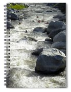 Safely Through The Boulders Spiral Notebook