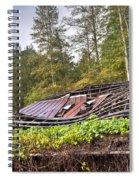 Sagging Rooftop 1 Spiral Notebook
