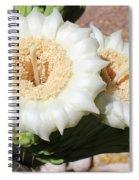 Saguaro Cactus Flowers Spiral Notebook