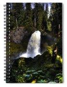 Sahalie Falls Spiral Notebook