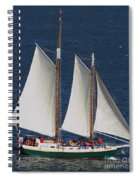 Sailboat In The San Francisco Bay . 7d7900 Spiral Notebook