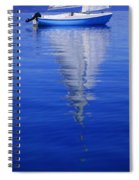 Sailboat On Water Spiral Notebook