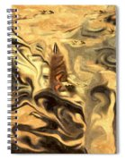 Sailboat Sunset Spiral Notebook