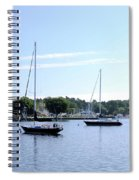 Sailboats In Bay Spiral Notebook