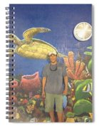 Sailfish Splash Park Mural 7 Spiral Notebook