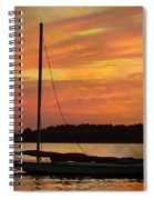 Sailin' On Dewey Spiral Notebook