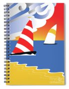 Sailing Before The Wind Spiral Notebook