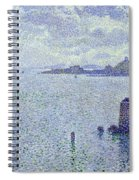 Sailing Boats In An Estuary Spiral Notebook