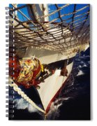 Sailing, Figurehead On The Prow Of A Spiral Notebook