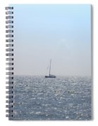 Sailing On Spiral Notebook