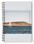Sailing On Carter Lake Spiral Notebook