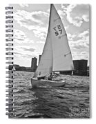 Sailing On The Charles Spiral Notebook