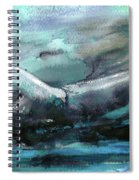 Sailing Over The Sea Spiral Notebook