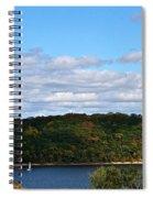 Sailing Summer Away Spiral Notebook