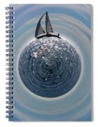 Sailing The World Spiral Notebook
