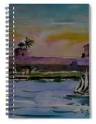Sailing To The Spanish Fort Spiral Notebook
