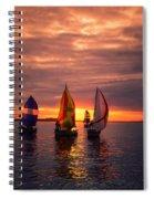 Sailing Yachts Spiral Notebook