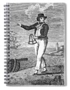 Sailor, 18th Century Spiral Notebook