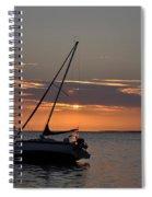 Sailor's Sunset Spiral Notebook