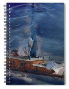 Sails Down Spiral Notebook