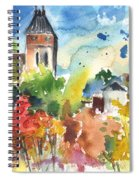 Saint Bertrand De Comminges 05 Spiral Notebook