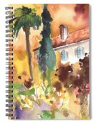 Saint Bertrand De Comminges 12 Spiral Notebook