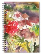 Saint Bertrand De Comminges 15 Spiral Notebook