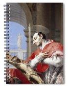 Saint Charles Borromeo Spiral Notebook