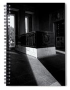 Saint Louis Soldiers Memorial Black And White Spiral Notebook