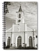 Saint Martin De Tours - Sepia Spiral Notebook