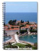 Saint Stephen In Montenegro Spiral Notebook
