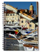 Saint Tropez Harbor Spiral Notebook