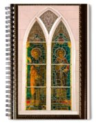 Saints In The Window Spiral Notebook