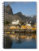 Sakrisoy Fishermen's Village Spiral Notebook