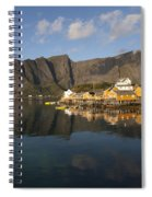 Sakrisoy Fishermen's Village II Spiral Notebook