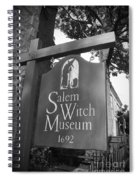 Salem Witch Museum Spiral Notebook