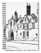 Salisbury Cathedral: Close Spiral Notebook
