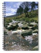 Sally Gap, River Liffey, Co Wicklow Spiral Notebook