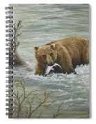 Salmon For Lunch Spiral Notebook