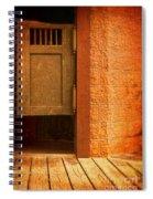Saloon Doors Spiral Notebook