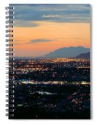 Salt Lake Nightscape Spiral Notebook