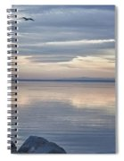 Salton Sea Sunset Spiral Notebook