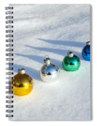 Salute To The Holidays Spiral Notebook