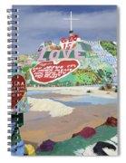 Salvation Mountain California 2 Spiral Notebook