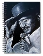 Sammy Davis Jr Spiral Notebook