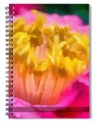 Sample-camellia Spiral Notebook