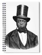 Samuel D. Burris Spiral Notebook