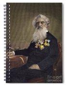 Samuel F.b. Morse (1791-1872) Spiral Notebook