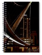 San Diego Lights At Night Spiral Notebook