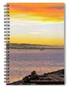 San Francisco Bay Wide View Spiral Notebook